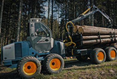 Lesní vyvážecí souprava